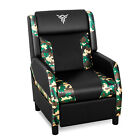 Massage Gaming Chair Recliner Racing Style Sofa Ergonomic Home Theater Relax New