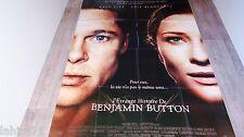 BENJAMIN BUTTON !  brad pitt cate blanchett affiche cinema