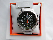 """""""BRAND NEW"""" ESQ MOVADO EXCEL CHRONOGRAPH 07301416 IN STAINLESS STEEL"""