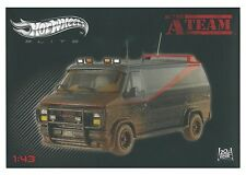 HOT WHEELS ELITE 1/43 THE A TEAM VAN WITH MUD MUDDY DIRTY LIMITED EDITION BCT88