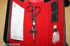 """ELITE STAINLESS STEEL Barber 5.5"""" Scissors Shears USA - IN CASE 06144"""