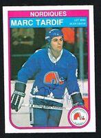 Marc Tardif #296 signed autograph auto 1982-83 O-Pee-Chee Hockey Card