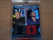 2012 Tristar TNA TENacious Trading Card Eric Bischoff and Garett Bischoff #1/100