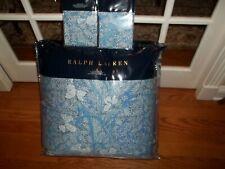 NIP Ralph Lauren Meadow Lane Kaley Blue Multi Full/Queen Comforter & Shams Set 3