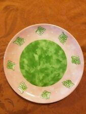 "Bois D'Arc ARTICHOKE Salad Dessert Plate Essex Heather Outlaw Portugal 8 1/4"""
