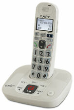 Clarity 53714.000 D714 Moderate Hearing Loss Cordless Amp Phone Dect 6.0 Tech