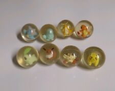 USED Pokemon Power Bouncer Vintage Ball Lot - Original Nintendo by Hasbro Bouncy
