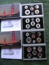 TWO (2) 2018 SAN FRANCISCO MINT SILVER REVERSE PROOF SETS WITH BOX & COA