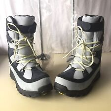 LL Bean Women's Sz 9M Snow Boots Walking Sticks Poles New Hiking Primaloft TEK