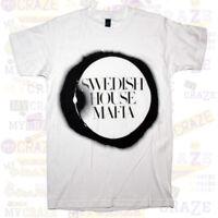 SWEDISH HOUSE MAFIA Round Logo White T-Shirt