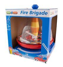 maro toys Feuerwehr Kreisel mit Sound Brummkreisel Kinderspielzeug NEU & OVP