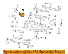 PORSCHE OEM 08-10 Cayenne Front Bumper-Air Duct Left 95557533310