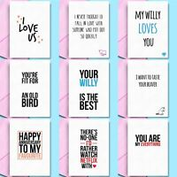 Funny Anniversary Cards Rude Anniversary Gift Him Her Boyfriend Girlfriend wife