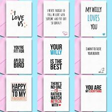Funny Anniversary Cards Rude Anniversary Gift Him Her Boyfriend Girlfriend wife