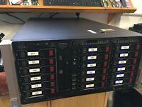 HP ML350p Gen8 Rack Server DUAL 8-Core Xeon E5-2650 v2 **48TB* SAS Storage