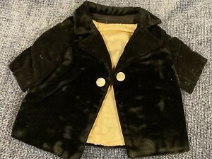 Antique Velvet Coat For French Or German Bisque Doll