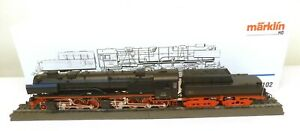 """Märklin H0 3102 Dampflok BR 53 0001 DRG """"Borsig"""" schwarz    G27"""