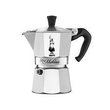 MOKINA BIALETTI Mini Moka Espresso Mezza Tazza 1/2 Half Cup Coffee Maker 40 cc