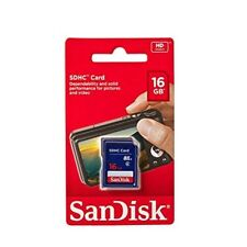 SanDisk 16GB SD Card SDHC Memory Card Class 4 16GB For Digital Cameras-UK