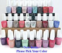 OPI GelColor Soak Off Gel Polish LED/UV .5oz Pick Your Color New Bottle!