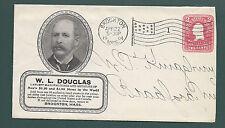 "BROCKTON, MASSACHUSETTS 1904. "" W.L. DOUGLAS"" Largest Mfg & Dealer U.S.&Canada."