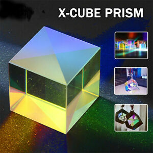 Defective X-Cube Prism Physics Teaching Tools DIY Decoration Science Education