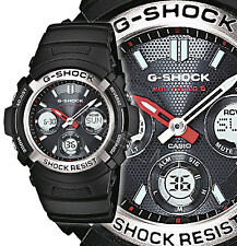 Casio G-Shock AWG-M100-1AER Chronograph Quartz Radio Control 200M Solar Power