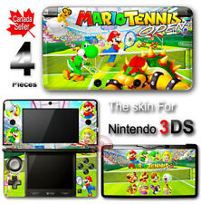Super Mario Tennis Open DECAL SKIN VINYL STICKER COVER for Nintendo 3DS