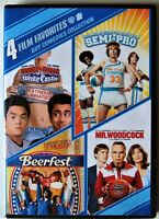 4 Film Favorites: Guy Comedy Collection DVD, 2010, 2-Disc Set Beerfest Semipro