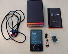 Microsoft Zune Black 80 GB with Box