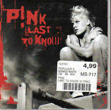 Pink-Last To Know cd single