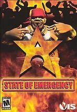 State of Emergency (PC, 2003) Original game disc in original jewel case