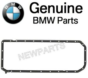 For BMW E34 E36 E39 E46 E53 E60 E83 3 5-Series Oil Pan Gasket Genuine