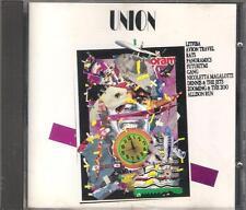 """"""" UNION """" CD FUORI CATALOGO - LITFIBA  RATS  GANG  VASCO ROSSI  FRANCO BATTIATO"""
