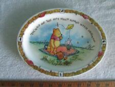 "Winnie The Pooh Selandia Oval Plate 9.5"" x 7.5"""