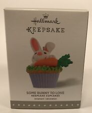 Hallmark Keepsake Ornament Some Bunny To Love 9th In The Cupcake Monthly Series