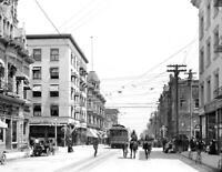 """1907 Colorado Street, Pasadena, California Old Photo 8.5"""" x 11"""" Reprint"""