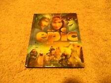 EPIC, SPECIAL BOOK EDITION, BLUE RAY/DVD COMBO, 2-DISC SET