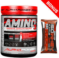 AlphaPower Food (19 /kg) Amino 1000 Tabletten Protein Glutamine