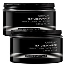 Redken BREWS Outplay Texture Pomade 2 x 100ml  All hair types RFM