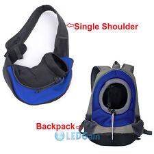 Pet Dog Cat Puppy Carrier Comfort Travel Tote Shoulder Bag Sling Backpack S/L