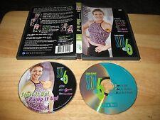 Debbie Siebers' Slim In 6 Fitness Beachbody 2002 2005 2-Disc DVD Set 3 Hours