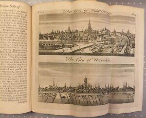1728 Germany, Saxony, Rhine, Westphalia, United Netherlands by SALMON 3 plates