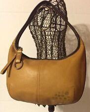 Coach 9293 Ergo Hobo Camel Tan Leather Shoulder Bag Purse Handbag EUC