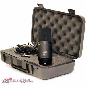 MXL 770 Cardioid FET Studio Condenser Microphone