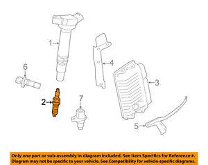TOYOTA OEM Ignition-Spark Plug 9091901233