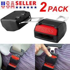 2 Pack Car Safety Seat Belt Buckle Extension Vehicle Extender Clip Universal Fits Toyota