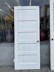 Old 5 Panel Door 83x33.5