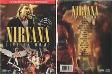 CD NIRVANA - LIVE IN ROME (BRAZIL EXCLUSIVE) ULTRA RARE