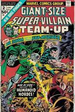 GIANT-SIZE SUPER-VILLAIN TEAM-UP #3 G/VG, Marvel Comics 1975 Stock Image